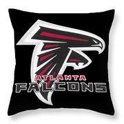 Falcons Atlanta T-shirt Throw Pillow