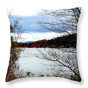 Fall 2015 Newfound Lake 1 Throw Pillow