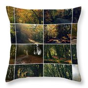 Fall - A Montage Throw Pillow