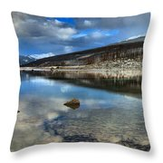 Fall Afternoon At Medicine Lake Throw Pillow