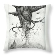 Fall Throw Pillow