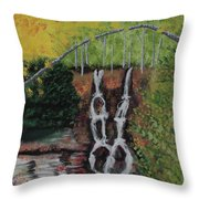 Gatineau Park In Autumn Throw Pillow