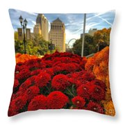 Fall At The Peabody Throw Pillow