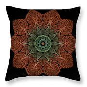 Fall Blossom Zxk-4310-2a Throw Pillow