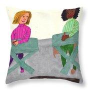 Fall Class Throw Pillow