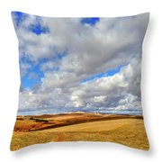 Fall Color On The Palouse Throw Pillow