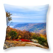 Fall Colors From Bear Mountain Throw Pillow