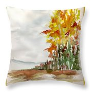 Fall Colour No. 1 Throw Pillow