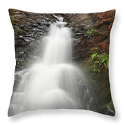Fall Creek Falls 2 Throw Pillow