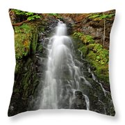 Fall Creek Falls 3 Throw Pillow