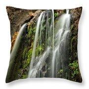 Fall Creek Falls 4 Throw Pillow