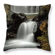 Fall Creek Falls 5 Throw Pillow