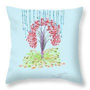 Fall. Day. 23 September, 2015, Nizhny Novgorod Throw Pillow
