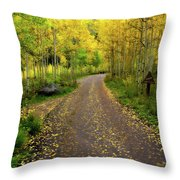 Fall Dream Throw Pillow