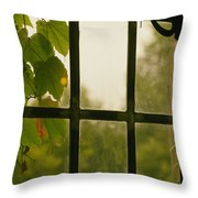 Fall Escape Throw Pillow