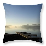 Fall Evening Throw Pillow