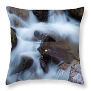 Fall Falls In Vail Throw Pillow