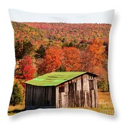 Fall Farm No. 6 Throw Pillow