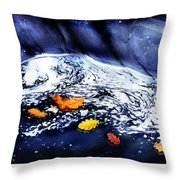 Fall Flotilla Throw Pillow