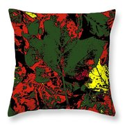 Fall Flourish 2 Throw Pillow