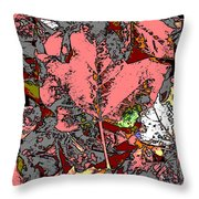 Fall Flourish Throw Pillow