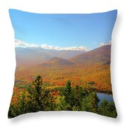 Fall From Mount Jo Throw Pillow