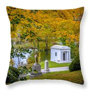 Fall Graves Throw Pillow