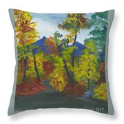 Fall In All Its Glory Throw Pillow