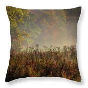 Fall In Cades Cove Throw Pillow