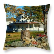 Fall In Connecticut Throw Pillow