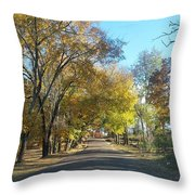 Fall In East Texas Throw Pillow