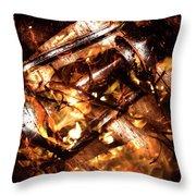 Fall In Fire Throw Pillow