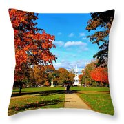 Fall In Guilford Throw Pillow