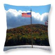 Fall In Heath Throw Pillow
