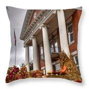 Fall In Jonesborough Tennessee Throw Pillow