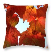 Fall In Love With Autum Throw Pillow