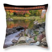 Fall In New Enlgand  Throw Pillow