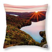 Fall In Northern Vermont Throw Pillow