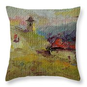 Fall In Orheiul Vechi Throw Pillow