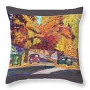 Fall In Santa Clara Throw Pillow