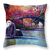 Fall In The Garden Throw Pillow