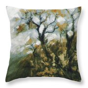 Fall In The Sumacs Throw Pillow