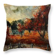 Fall In Vivy Throw Pillow
