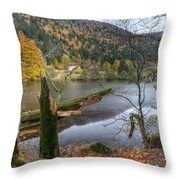 Fall In Vosges National Park Throw Pillow
