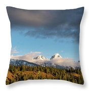 Fall In Wyoming Throw Pillow