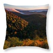 Fall. Throw Pillow