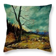 Fall Landscape 56 Throw Pillow
