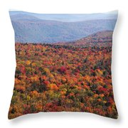 Fall Mountains #3 Throw Pillow