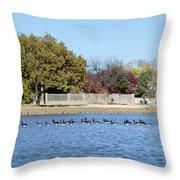 Fall Nature Throw Pillow