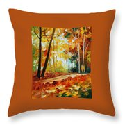 Fall New Throw Pillow